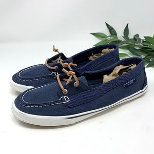 Sperry Blue Boat Shoe Loafer Women's 11